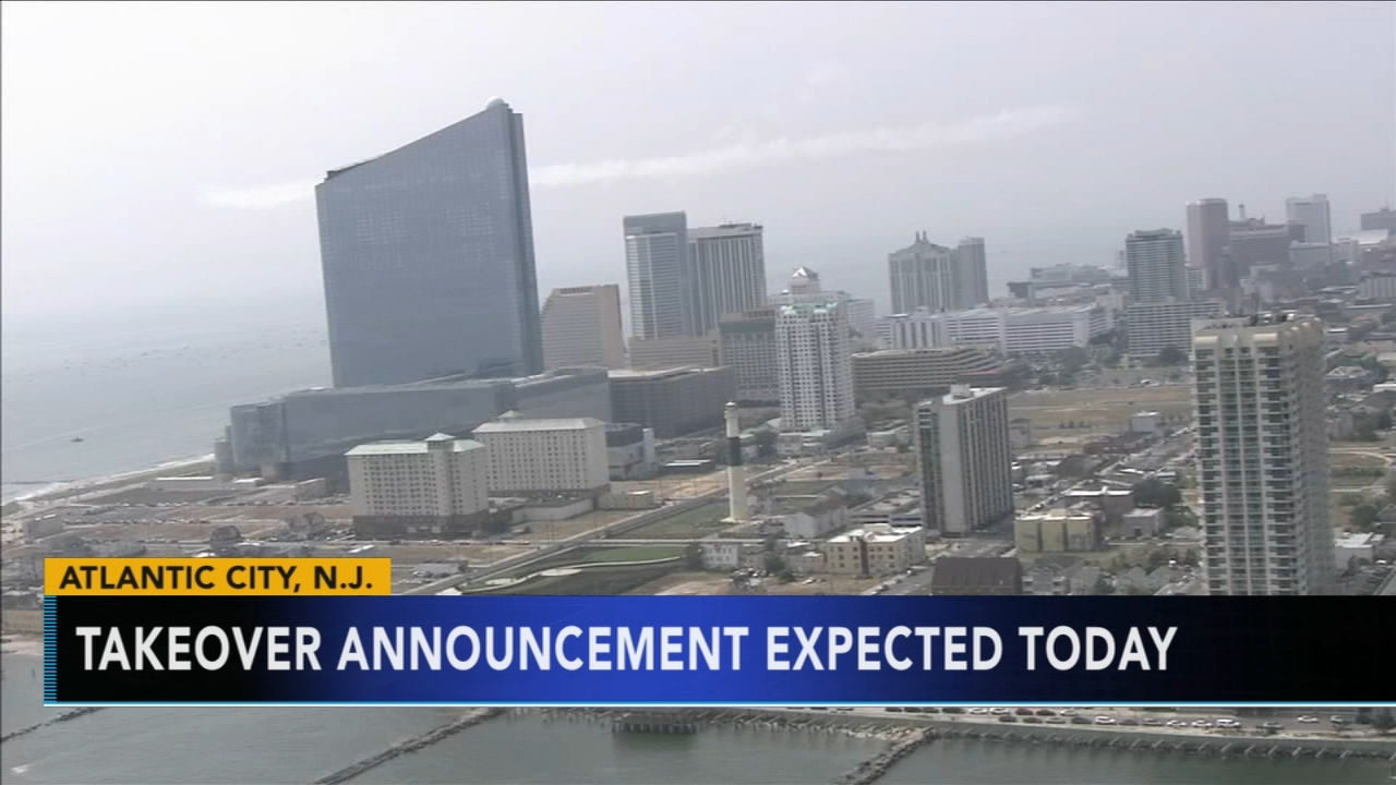Announcement expected to end the state takeover of Atlantic City. Rick Williams reports during Action News at 12 p.m. on September 20, 2018.