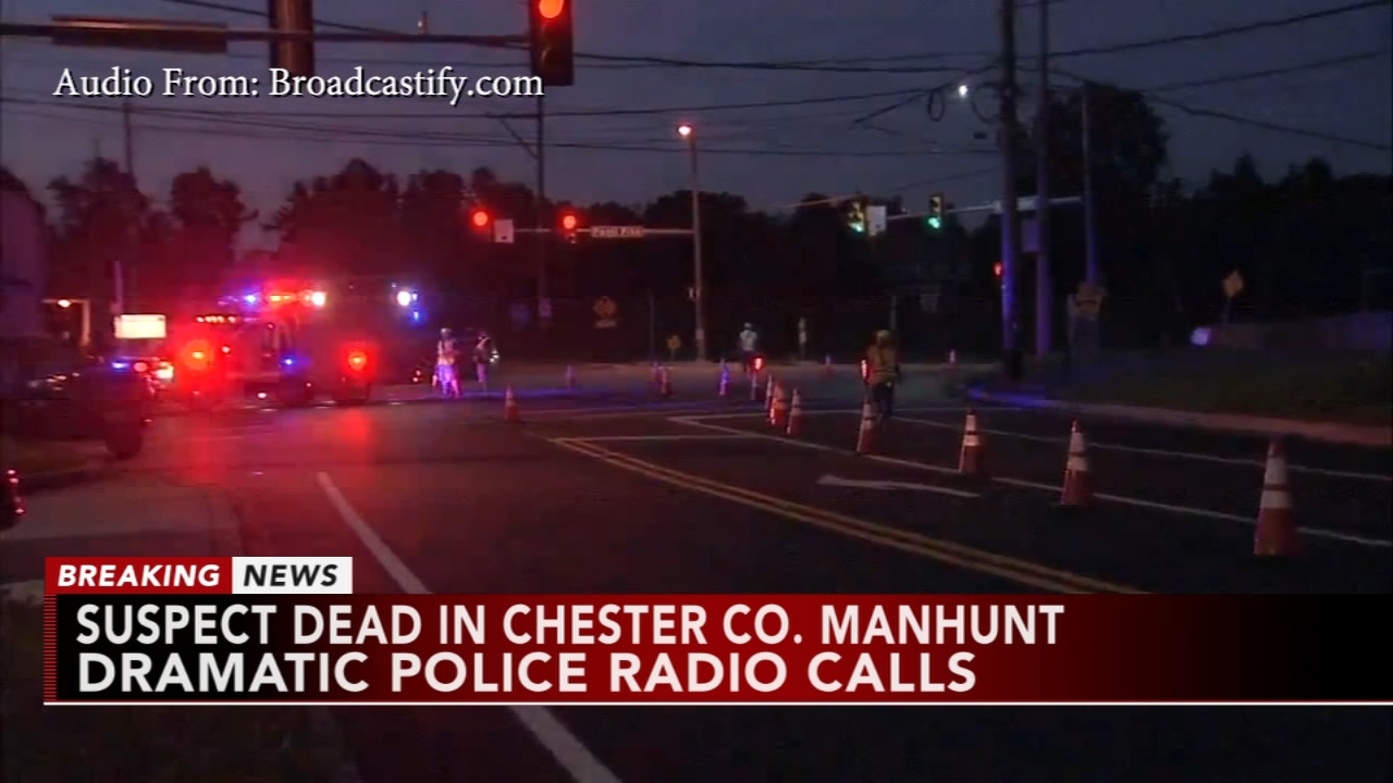 Dramatic police radio calls in Pa. manhunt. Jeannette Reyes reports during Action News Mornings on September 20, 2018.