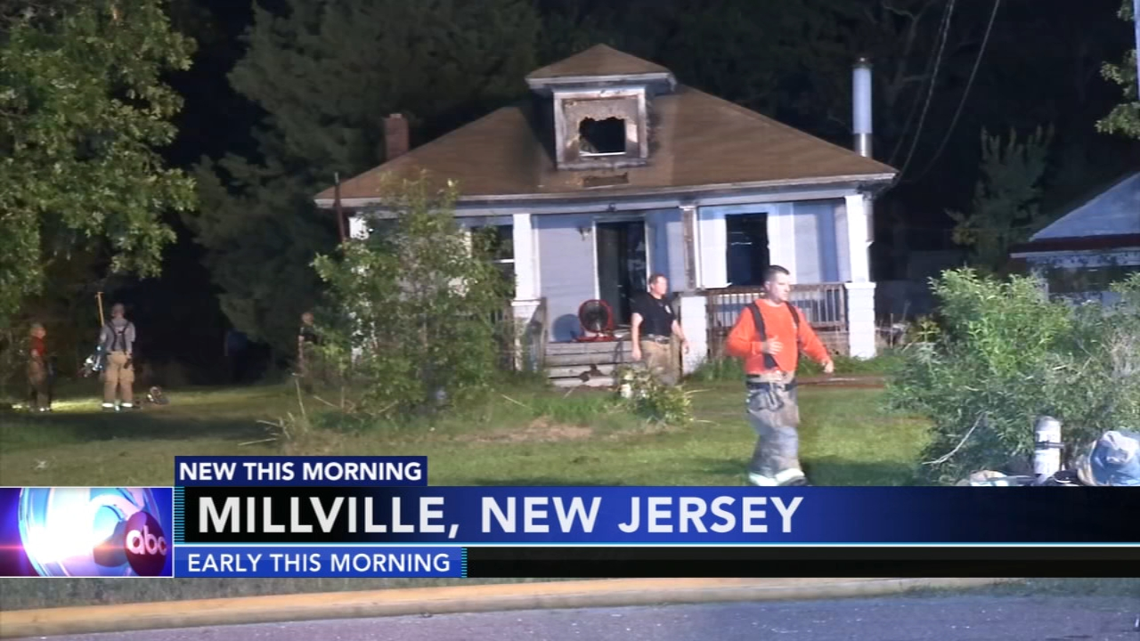 Flames destroy vacant Millville house. Matt ODonnell reports during Action News Mornings on September 20, 2018.