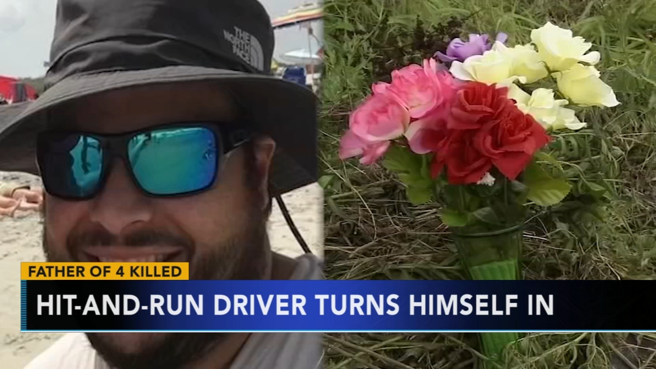 Father of 4 killed in hit-and-run; driver turns himself in. Brian Taff reports during Action News at 4:30 p.m. on September 20, 2018.