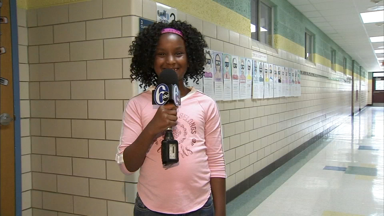 Delaware 8-year-old becomes TIME for Kids student reporter. Alicia Vitarelli reports during Action News at 4 p.m. on September 20, 2018.