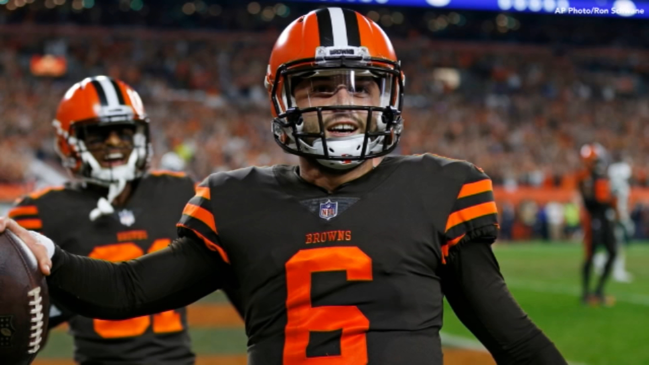 Browns gets 1st win since 2016, use Philly Special play. Matt ODonnell reports during Action News Mornings on September 21, 2018.