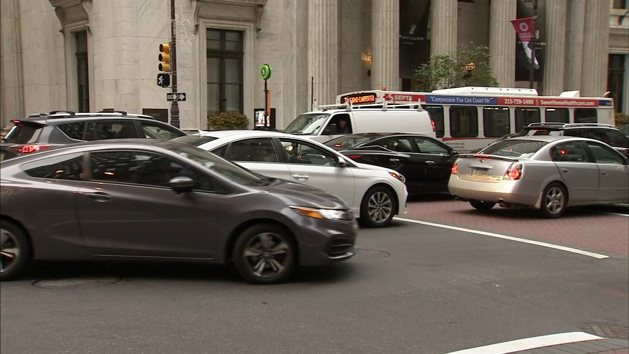 Traffic law crackdown coming to Center City Philadelphia. Jeannette Reyes reports during Action News at Noonon September 21, 2018.