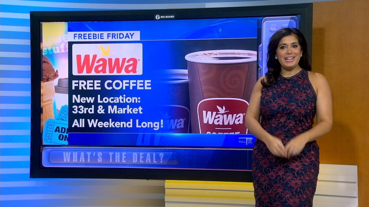 Alicia Vitarelli breaks down all your freebies this Friday during Action News at 4:30pm on September 21, 2018.