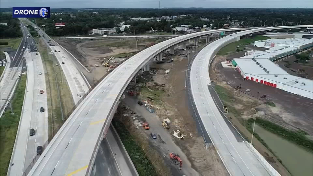 Ramps connecting I-95 with Pennsylvania Turnpike set to open. John Rawlins reports during Action News at 5pm on September 21, 2018.