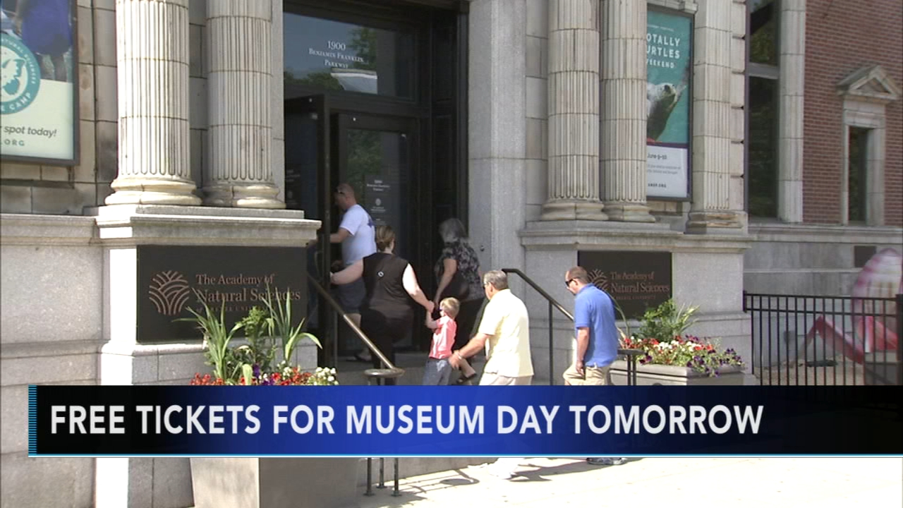 Free tickets for Museum Day in Philly. Matt ODonnell reports during Action News Mornings on September 21, 2018.