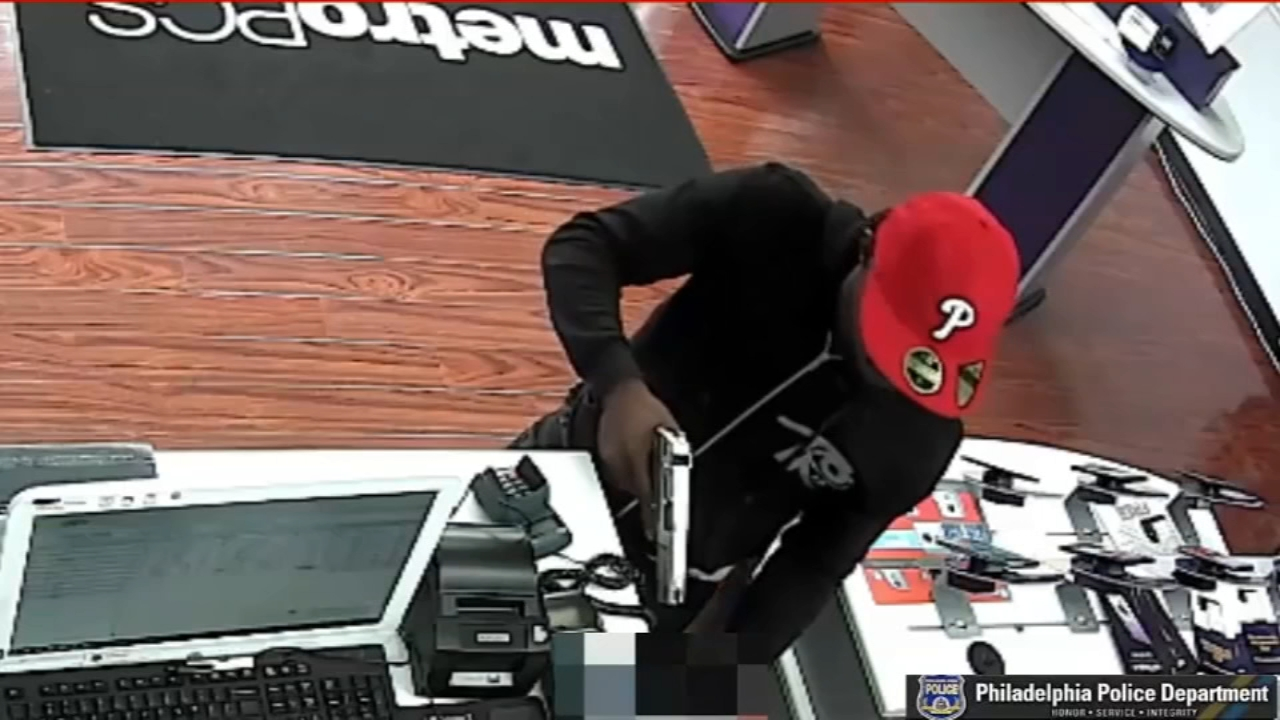 New video released of serial robbery suspect in Philadelphia. Watch the report from Action News at 11 p.m. on September 21, 2018.