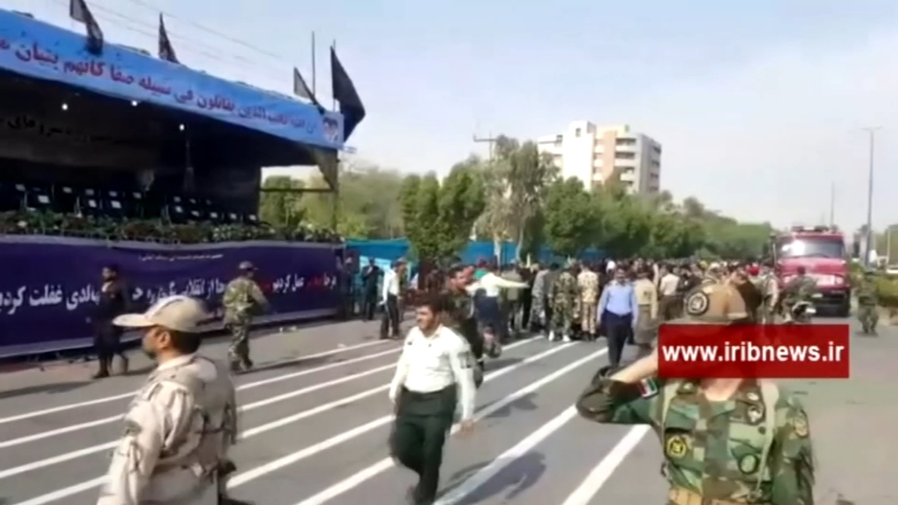 Gunmen attack Iran military parade, killing at least 24. Alicia Vitarelli reports during Action News at 6 a.m. on September 22, 2018.