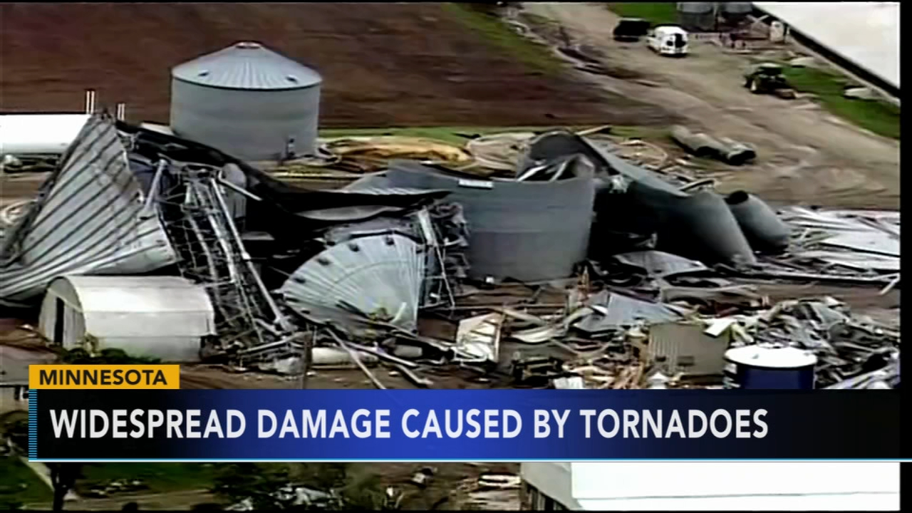 High winds, tornadoes wreak havoc across southern Minnesota. Alicia Vitarelli reports during Action News at 6 a.m. on September 22, 2018.
