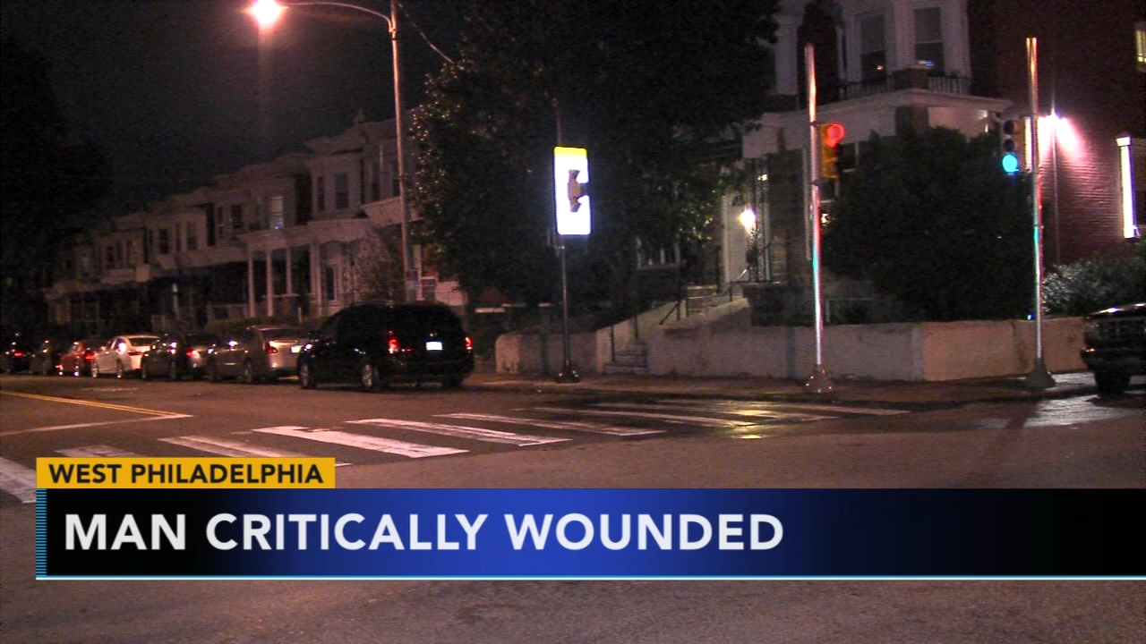 Man critical following late night shooting in West Philadelphia. Jeannette Reyes reports during Action News at 9 a.m. on September 23, 2018.
