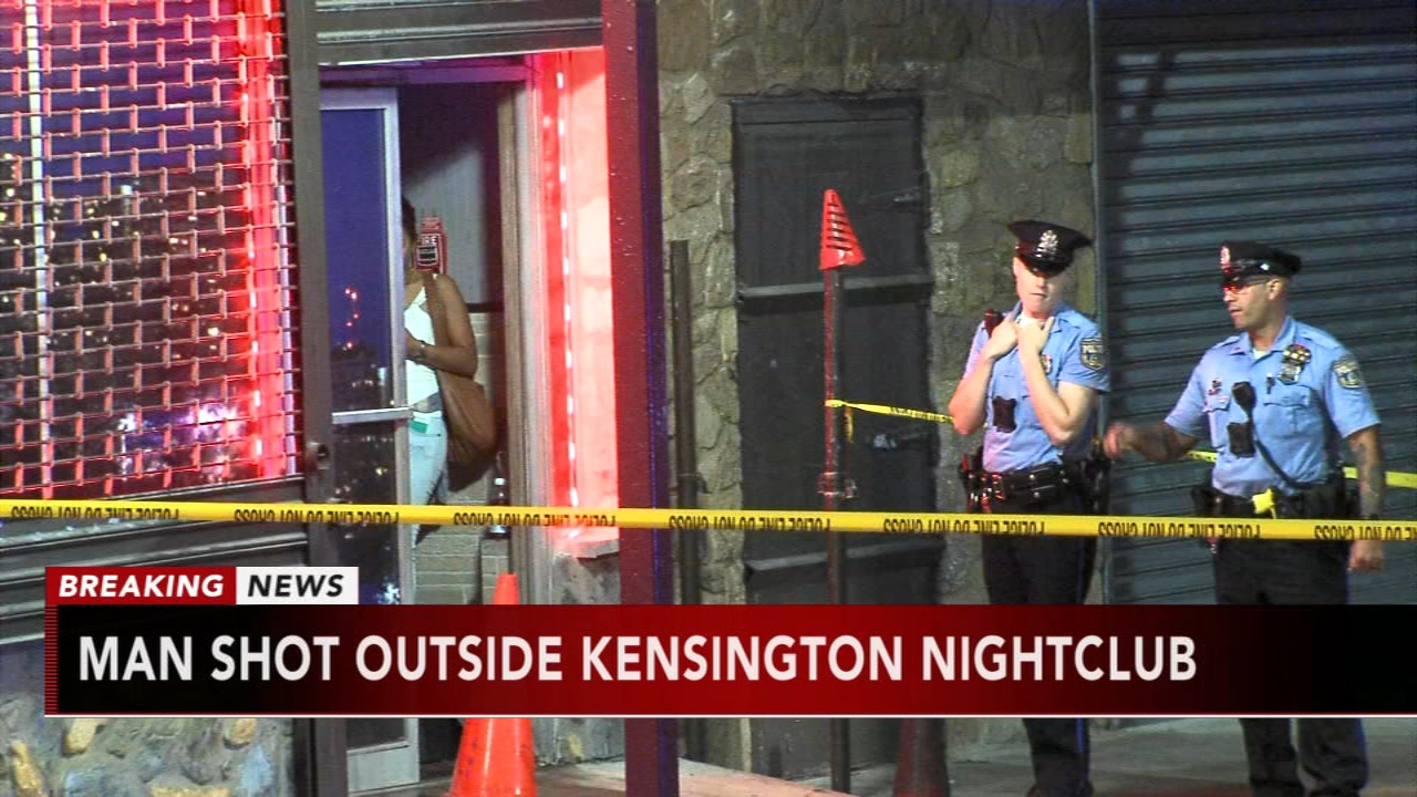 Man wounded in shooting outside Kensington nightclub. Jeannette Reyes reports during Action News at 6 a.m. on September 23, 2018.
