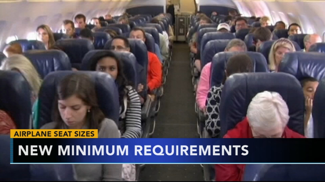 Congress takes aim at shrinking seats, legroom on airplanes. Nydia Han reports during Action News at 6 a.m. on September 23, 2018.