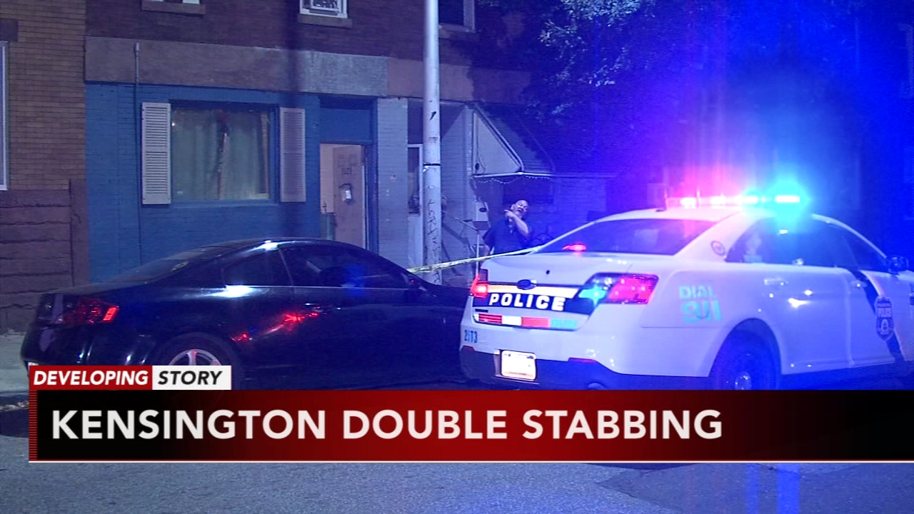 Dispute between neighbors leads to double stabbing in Kensington. Jeannette Reyes reports during Action News at 6 a.m. on September 23, 2018.