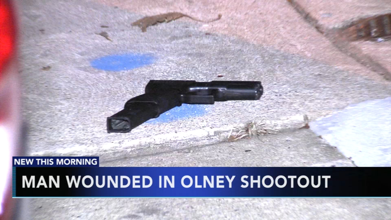 Shootout leaves man wounded in citys Olney section. Jeannette Reyes reports during Action News at 6 a.m. on September 23, 2018.