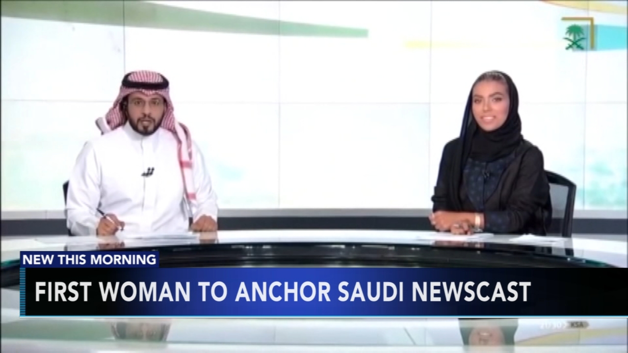 Woman becomes first female to anchor newscast in Saudi Arabia. Jeannette Reyes reports during Action News at 7 a.m. on September 23, 2018.