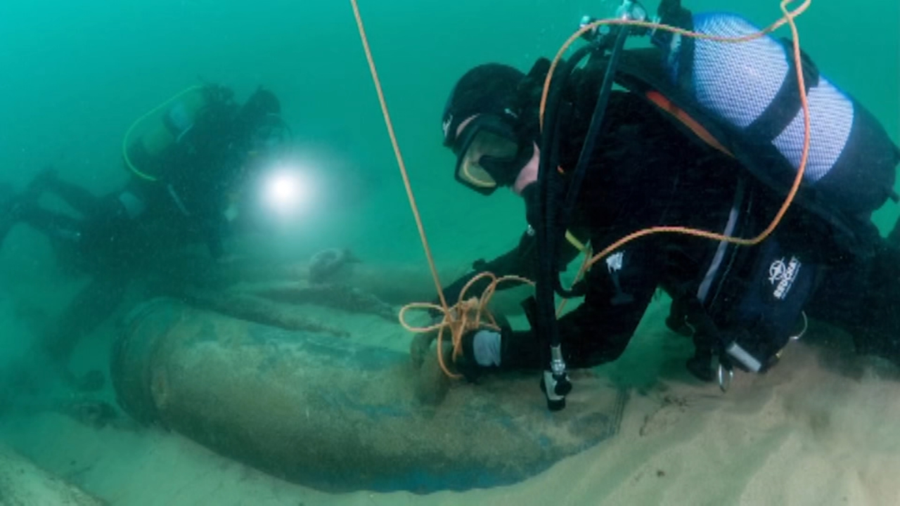 Centuries-old shipwreck discovered off coast of Portugal. Nydia Han reports during Action News at 9 a.m. on September 23, 2018.