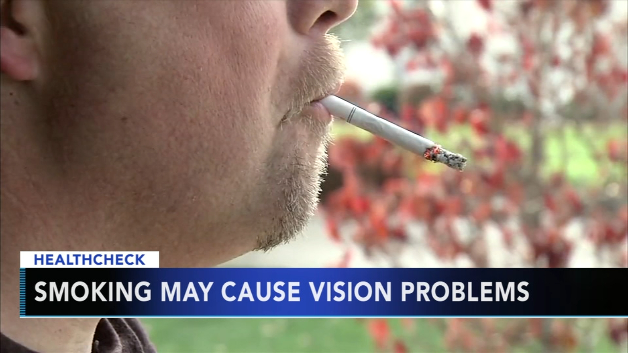 Study shows smoking could have impact on your vision. Nydia Han reports during Action News at 9 a.m. on September 23, 2018.