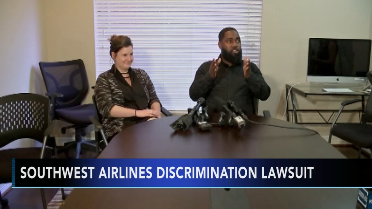 Former Southwest Airlines employee sues company over racial discrimination. Nydia Han reports during Action News at noon on September 23, 2018.