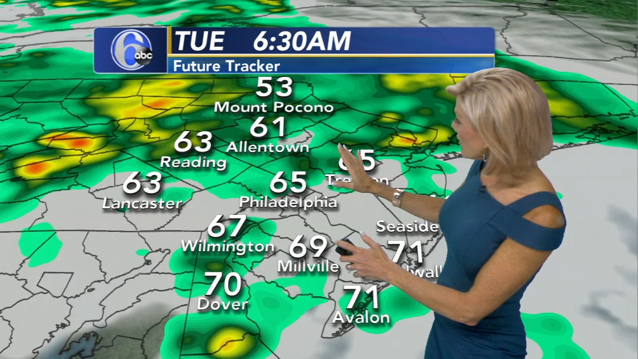 Cecily Tynan with the AcuWeather Forecast