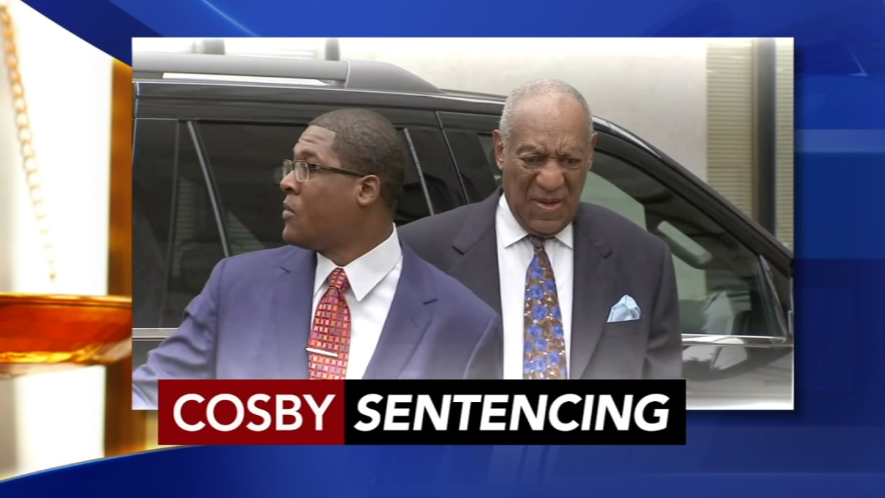 Cosby sentencing, Day 1: John Rawlins and Sarah Bloomquist report on Action News at 6 p.m., September 24, 2018.