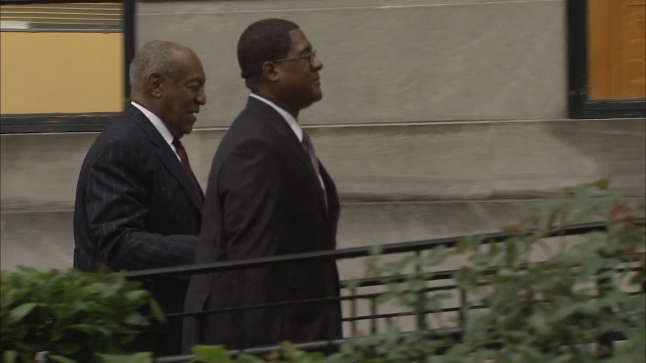 Bill Cosby arrives for Day 2 of sentencing hearing on September 25, 2018.