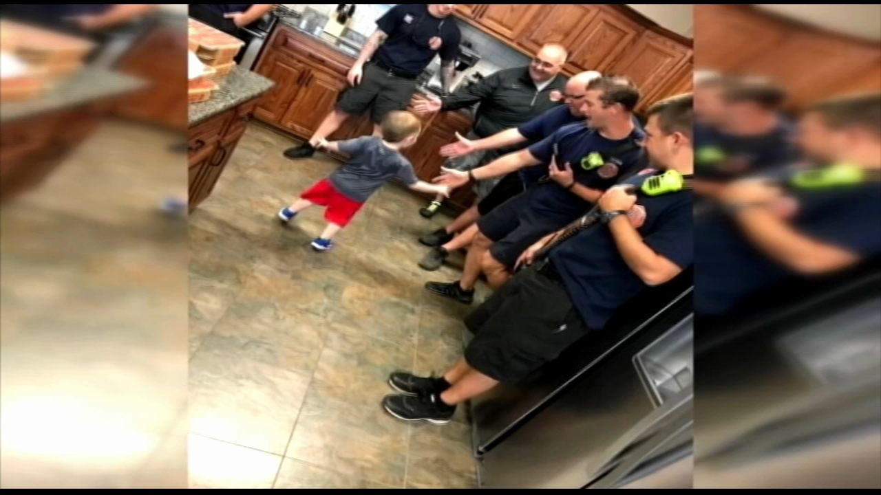 Firefighters rescue 3-year-olds birthday party. Karen Rogers reports during Action News Mornings on September 25, 2018.