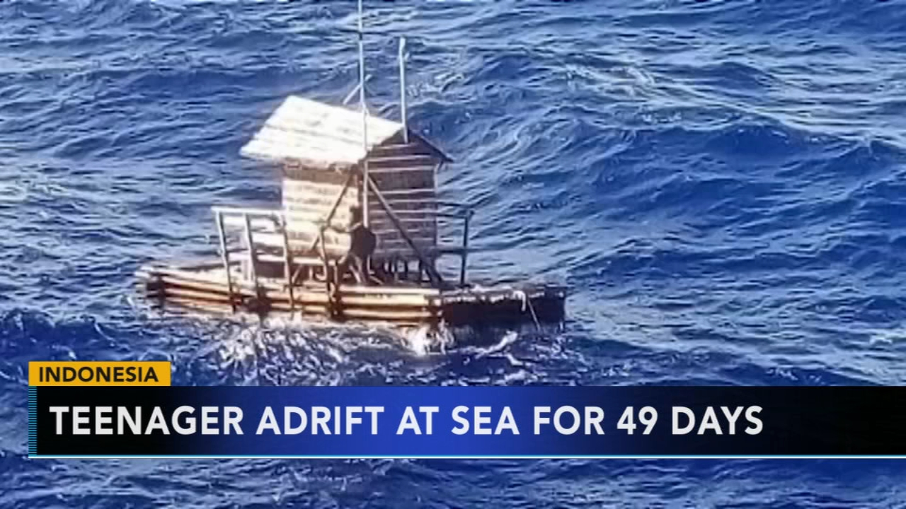 Teen adrift at sea for 49 days. Tamala Edwards reports during Action News Mornings on September 25, 2018.