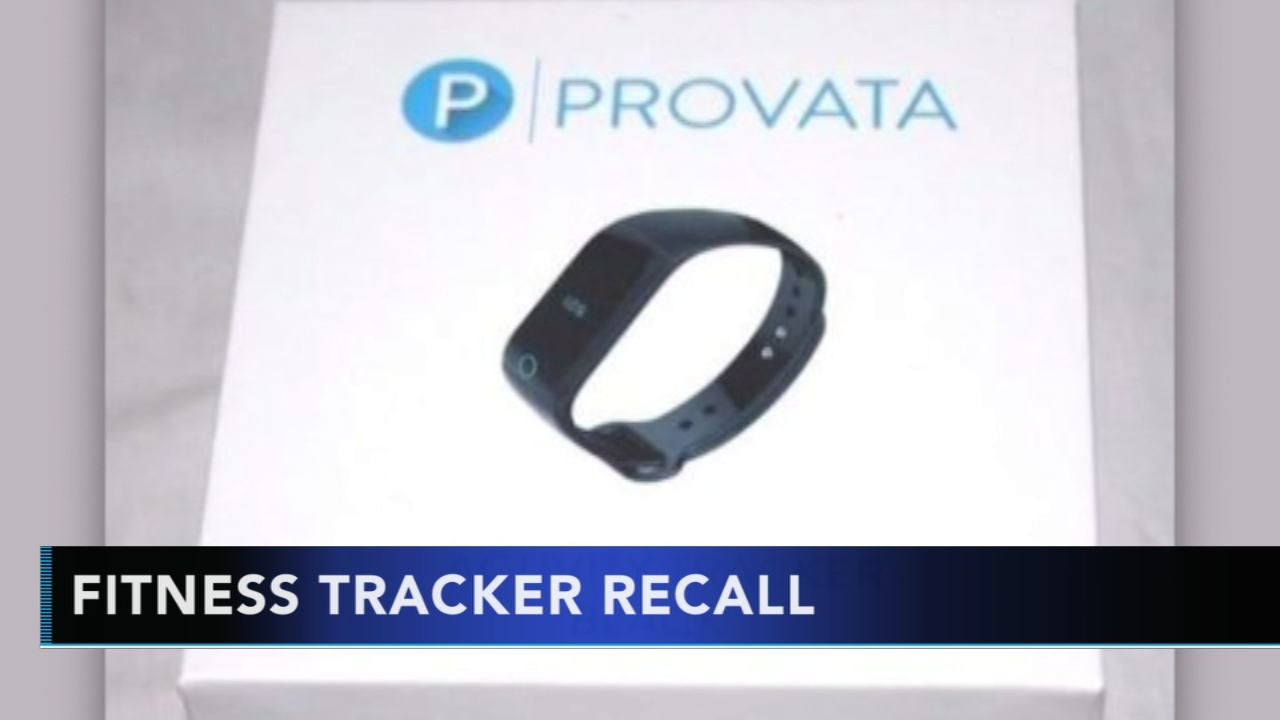 Fitness tracker recalled due to risk of burns. Sharrie Williams reports during Action News at  4 p.m. on September 26, 2018.