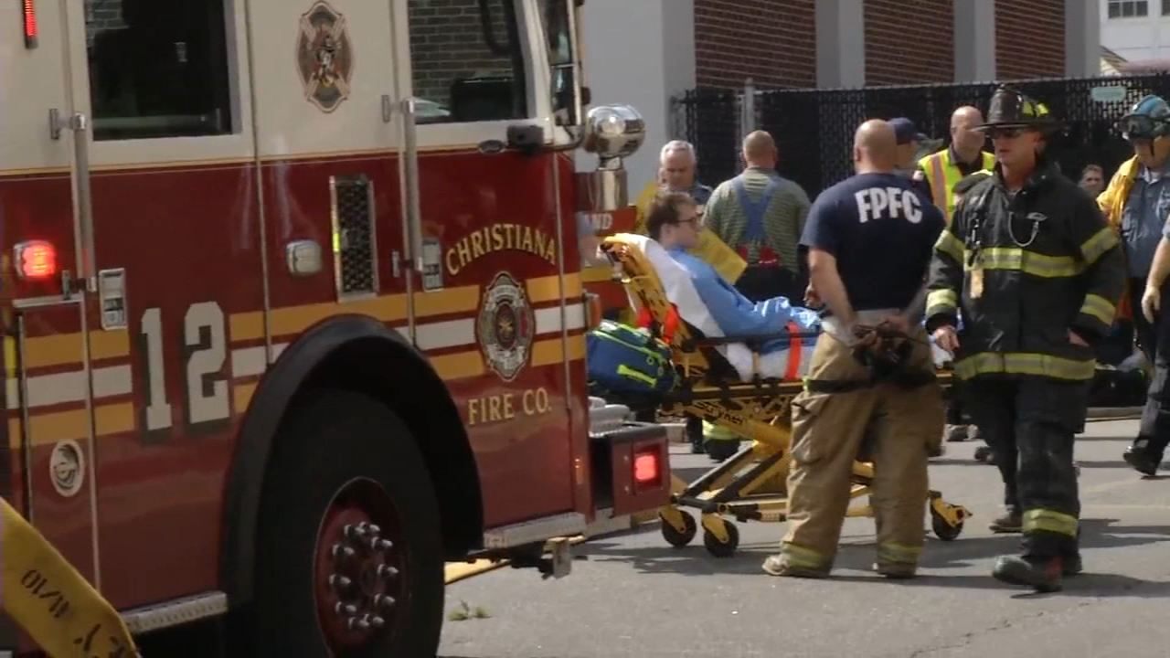 2 injured in hazmat situation at University of Delaware. Brian Taff reports during Action News at 4:30 p.m. on September 26, 2018.