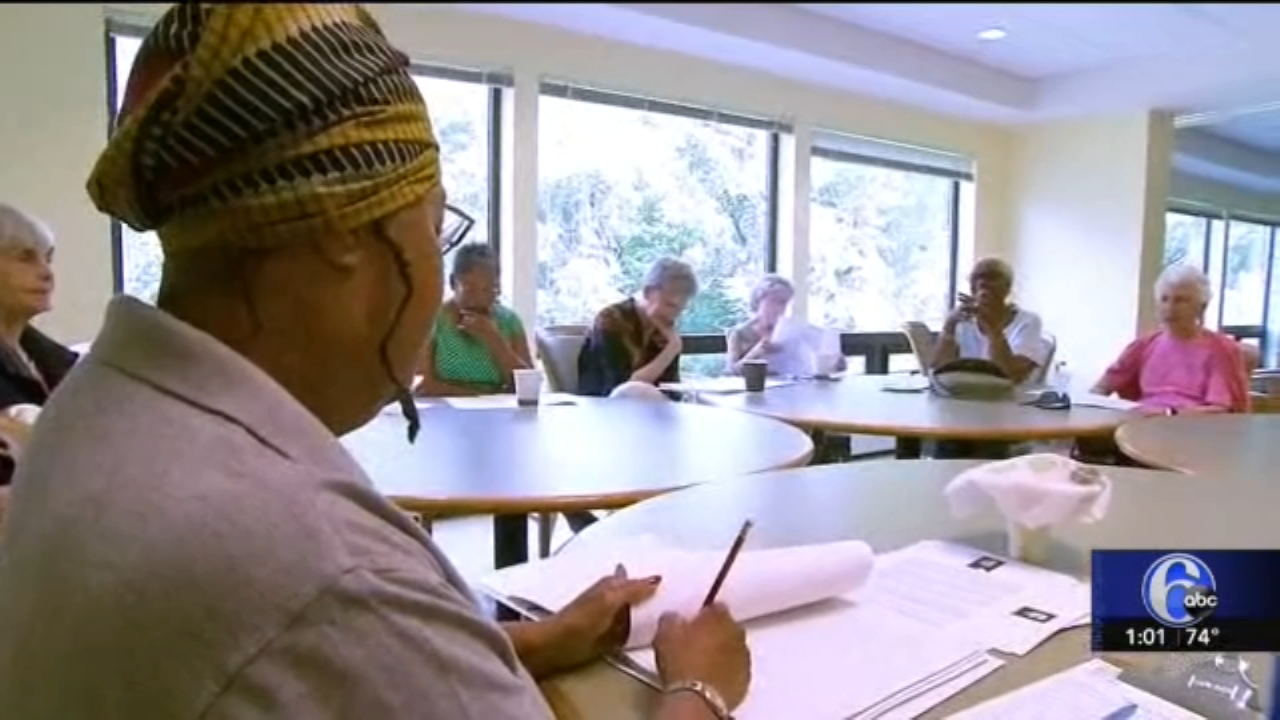 Art of Aging: People and Stories brings seniors together through reading. Watch the report from Tamala Edwards on Action News at Noon on September 27, 2018.
