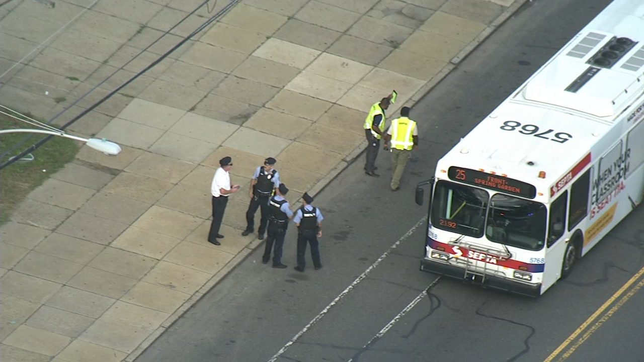 Police say a 12-year-old boy has died after being hit by a SEPTA bus as reported by Dann Cuellar during Action News at 11 on September 28, 2018.