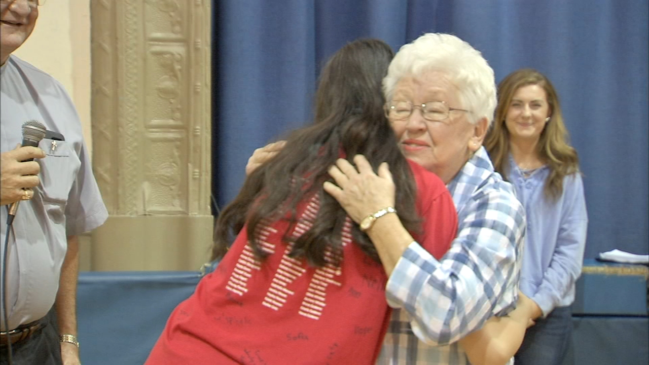 84-year-old NJ Crossing Guard Retires | Katherine Scott reports during Action Nwes at Noon on September 28, 2018.