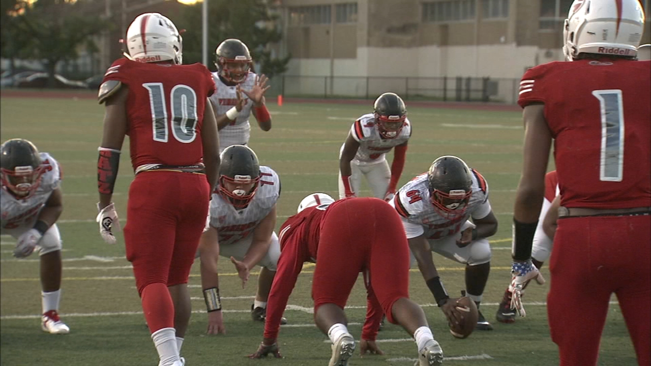 Watch: High School Huddle 2018 Week 5 highlights. Jeff Skversky reports during Action News at 11 p.m. on September 28, 2018.