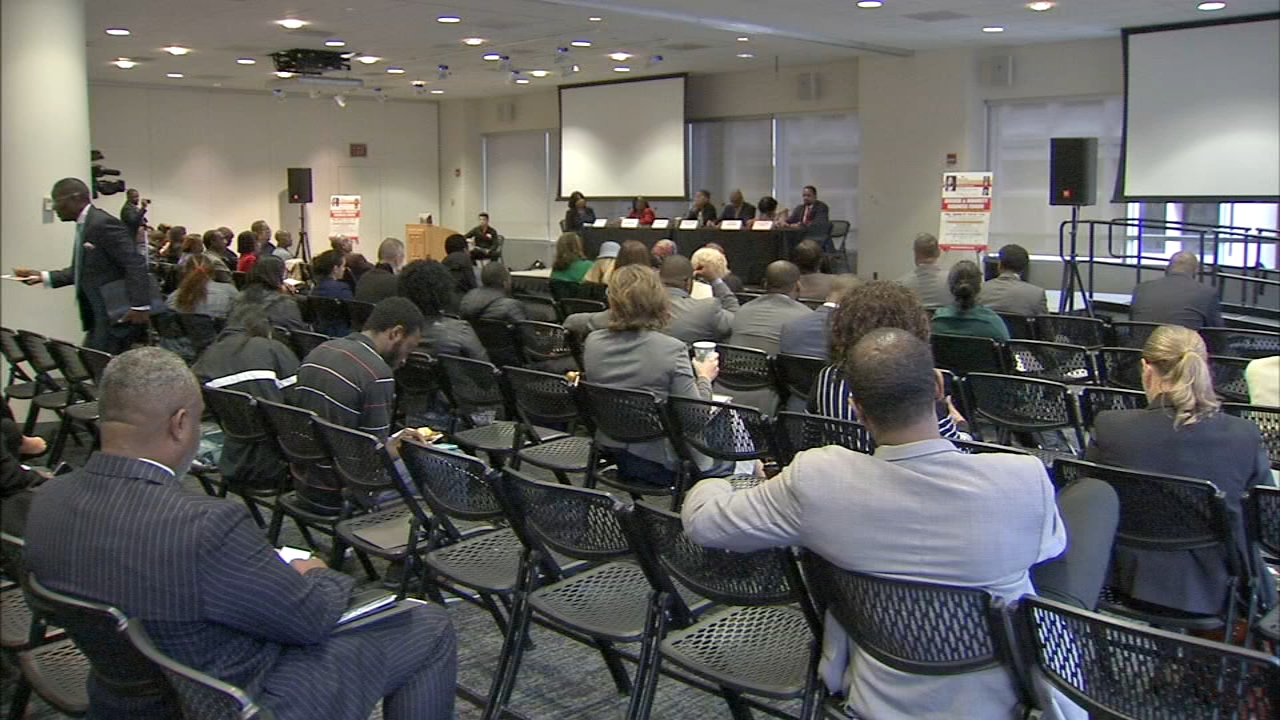 Local and state officials held a forum about programs to help create more diversity as reported during Action News at 4 on September 28, 2018.