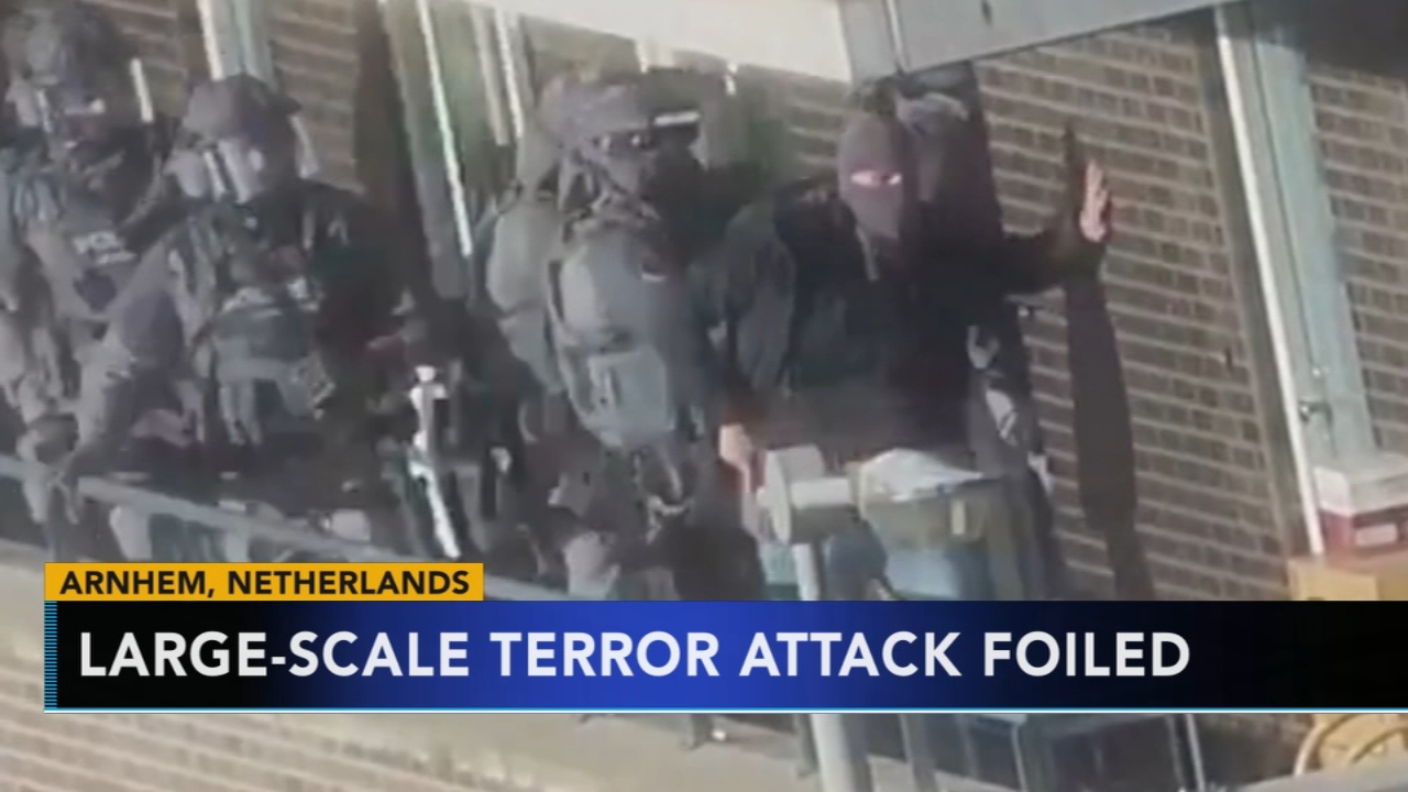 Dutch raids neutralized extremists threat, authorities say. Jim Gardner reports during Action News at 11 p.m. on September 28, 2018.