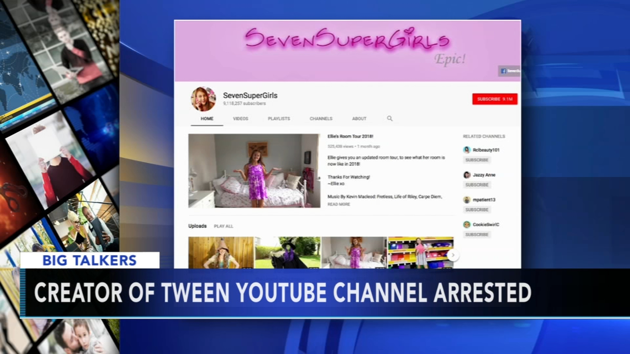 Co-creator of popular YouTube channel accused of molesting young actress. Alicia Vitarelli reports during Action News at 4 p.m. on September 28, 2018.