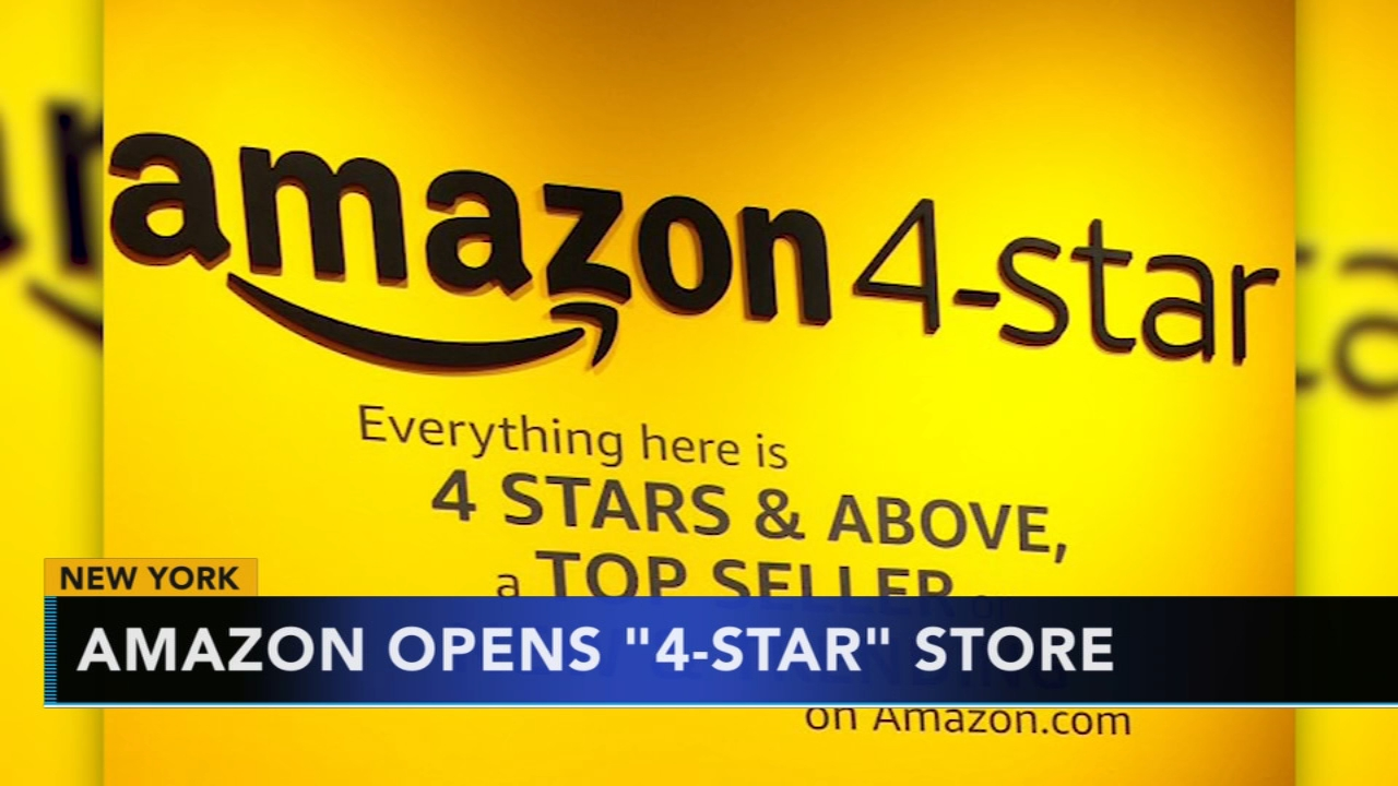 Amazon opens 4-star store in New York. Gray Hall reports during Action News at 9 a.m. on September 29, 2018.