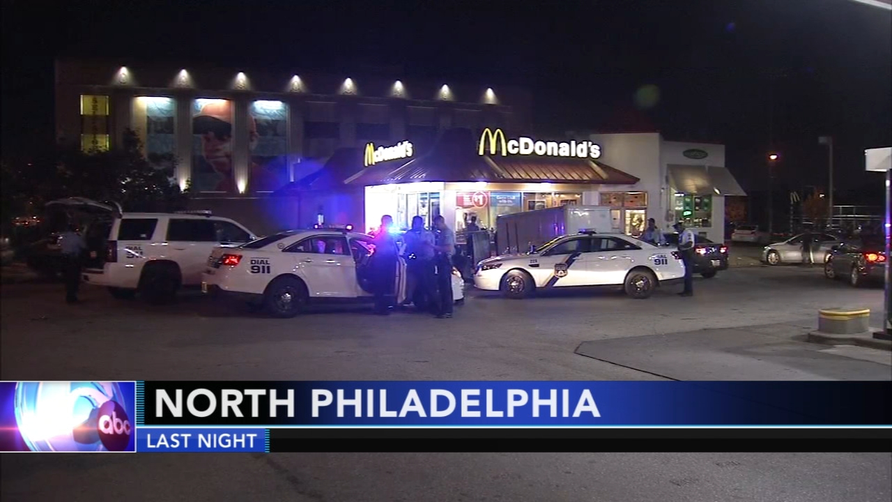 Third suspect sought in robbery at North Philadelphia McDonalds. Gray Hall reports during Action News at 9 a.m. on September 29, 2018.