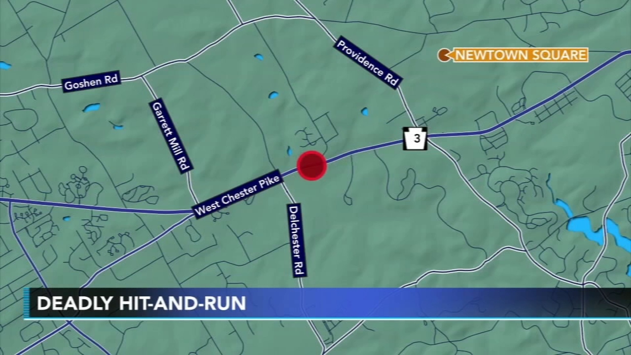 Deadly hit-and-run in Newtown Square, Pa. Walter Perez reports during Action News at 6 p.m. on September 30, 2018.