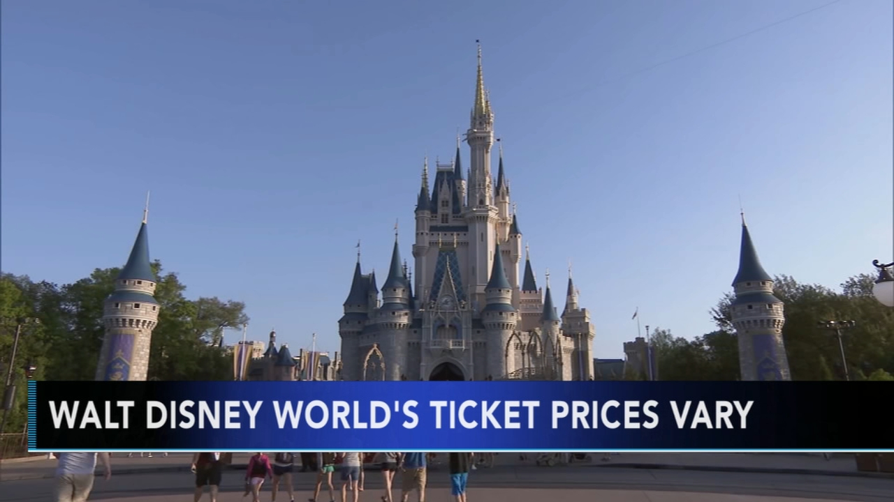 Walt Disney World ticket prices to vary depending on date. Nydia Han reports during Action News at 7 a.m. on September 30, 2018.