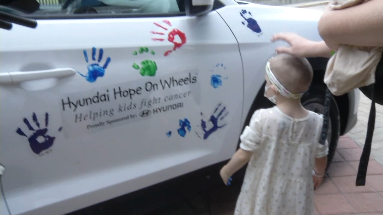 Hyundai gave $200,000 to the Nemours/Alfred I.Dupont hospital for children in Wilmington as reported during Action News at 5 on September 14, 2018.