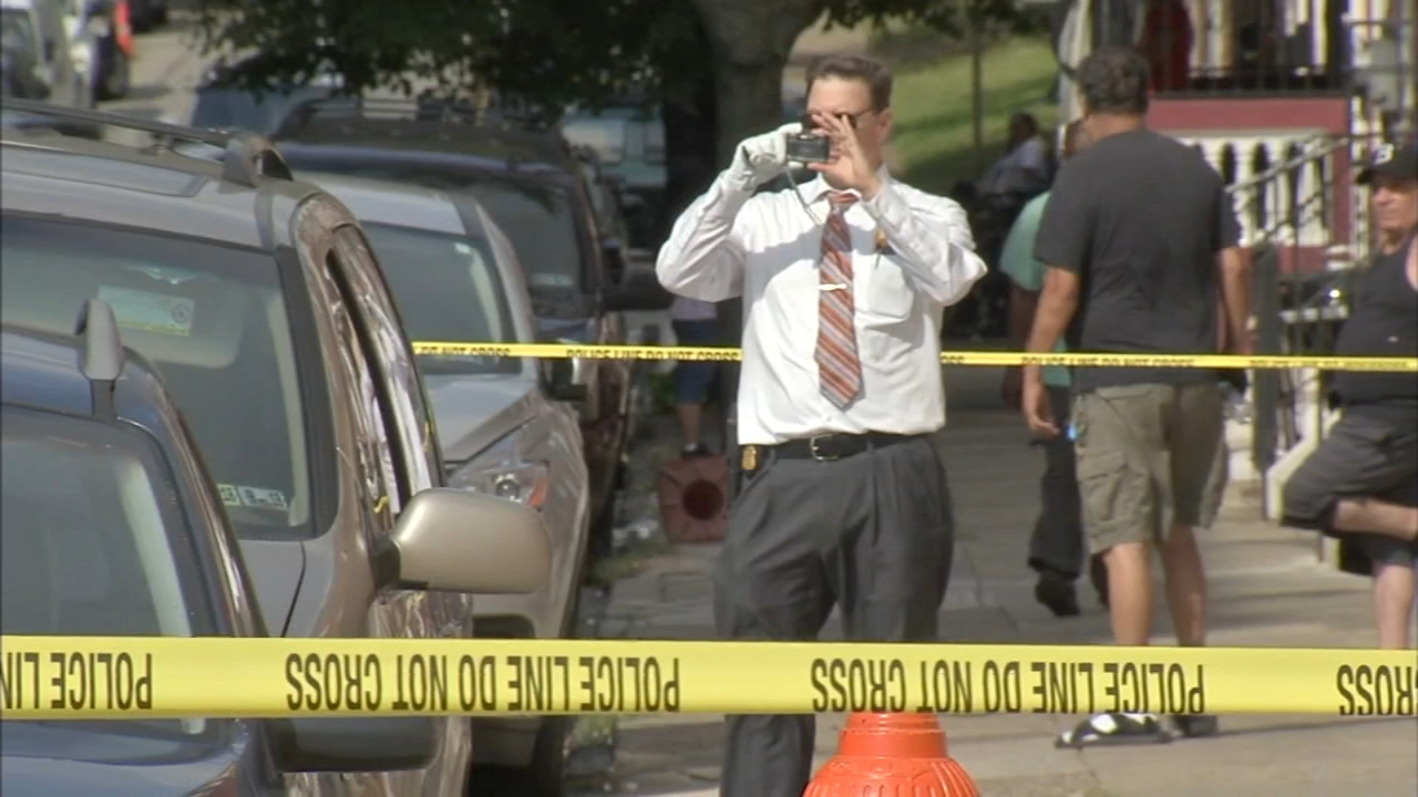 Triple shooting in broad daylight in Kensington: Sarah Bloomquist reports on Action News at 5 p.m., October 1, 2018