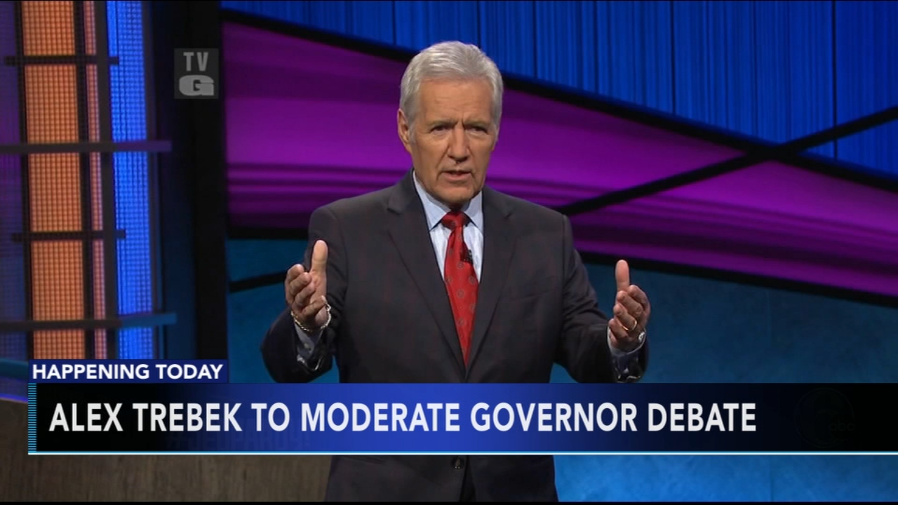 Alex Trebek to moderate governor debate. Jeannette Reyes reports during Action News Mornings on October 1, 2018.
