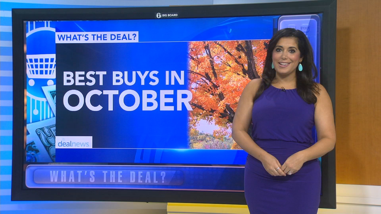 Whats the Deal: What to buy and not to in October - Alicia Vitarelli reports during Action News at 4:30pm on October 1, 2018.