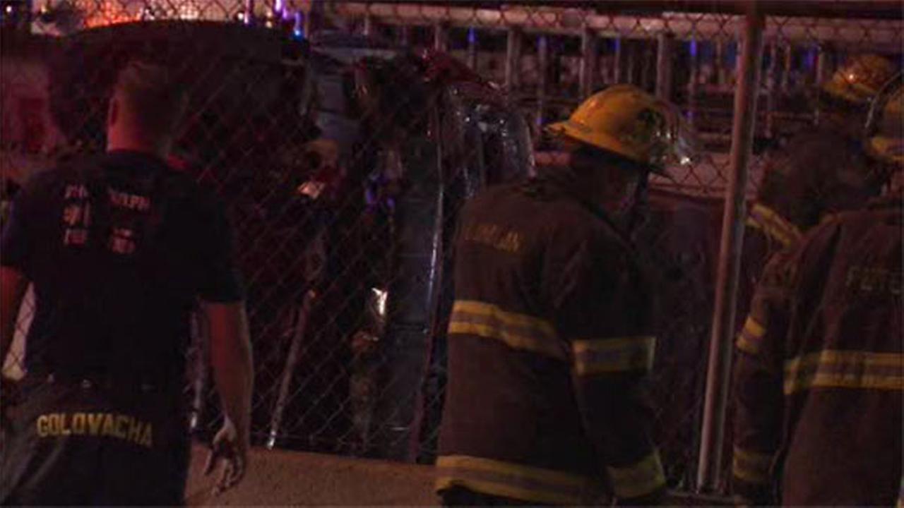 Driver injured in crash in University City