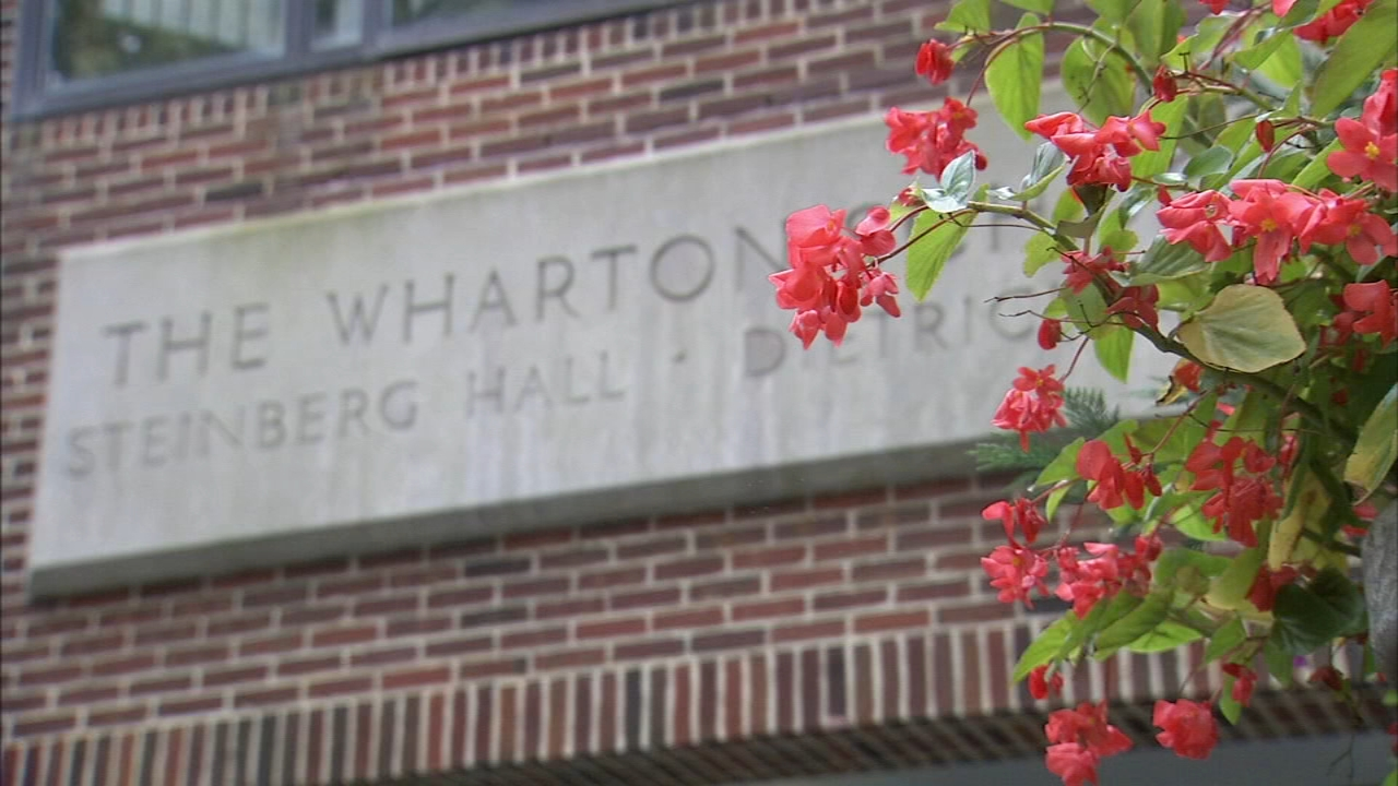 The Wharton School receives large gift: Bob Brooks reports on Action News at 6 p.m., October 2, 2018
