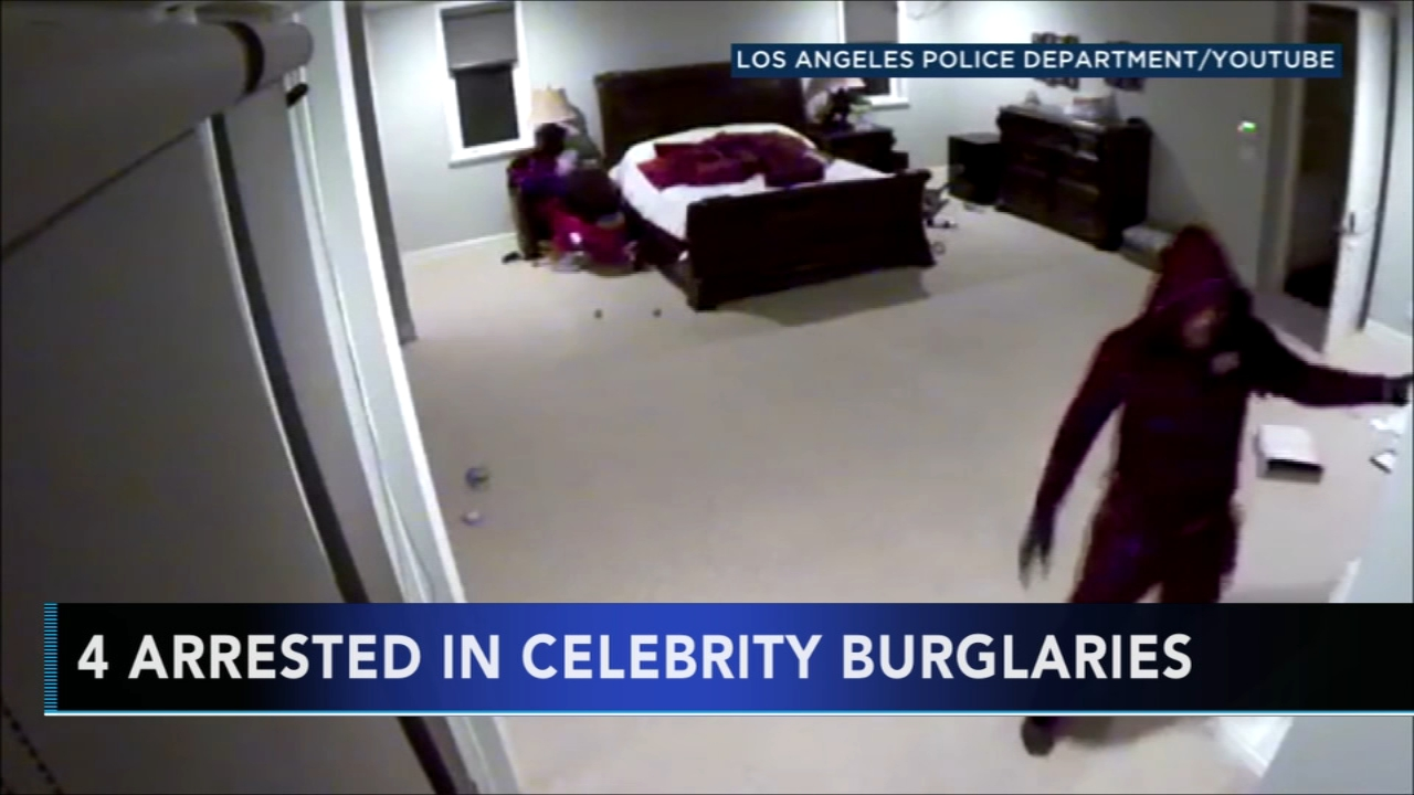 4 arrested for series of Los Angeles celebrity burglaries. Tamala Edwards reports during Action News Mornings on October 3, 2018.