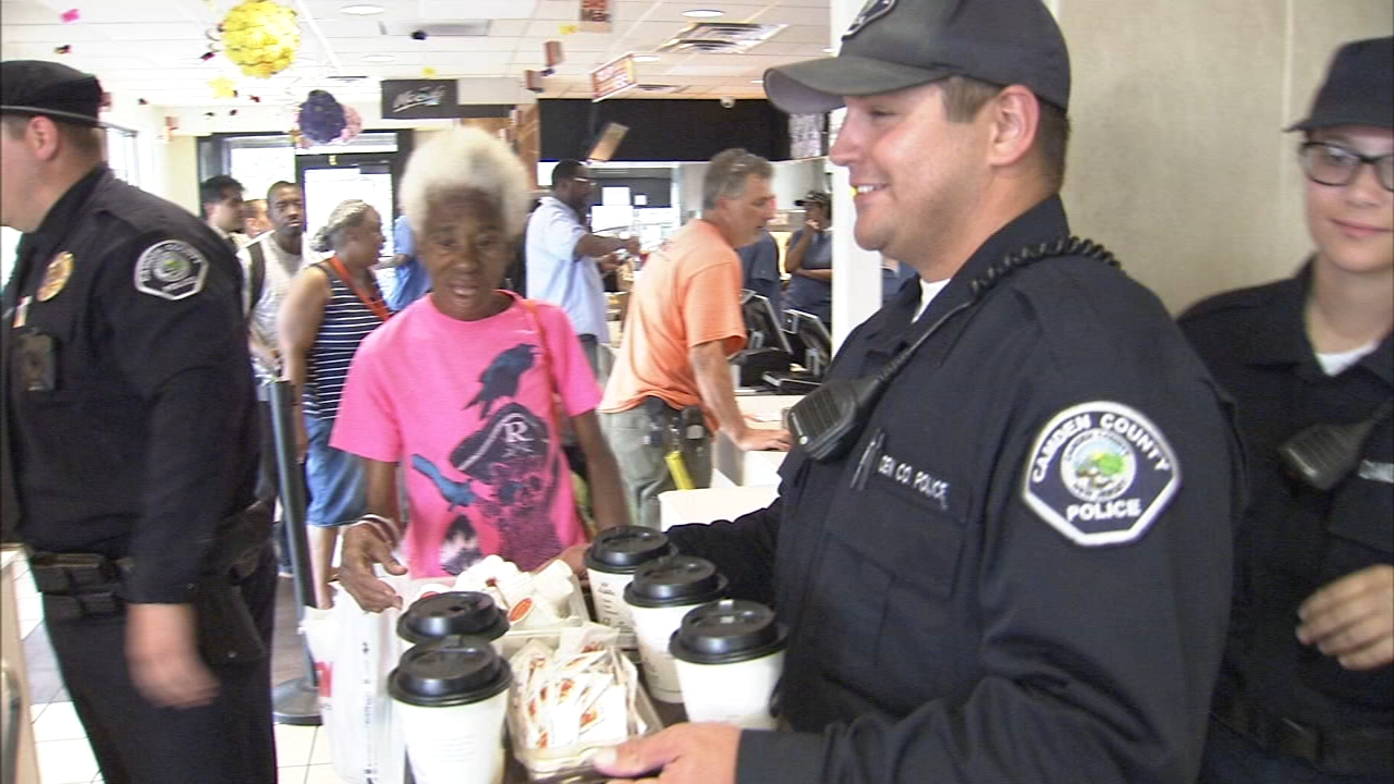 Coffee with a cop event allowed neighbors to stop by for coffee as reported during Action News at 5 on October 3, 2018.