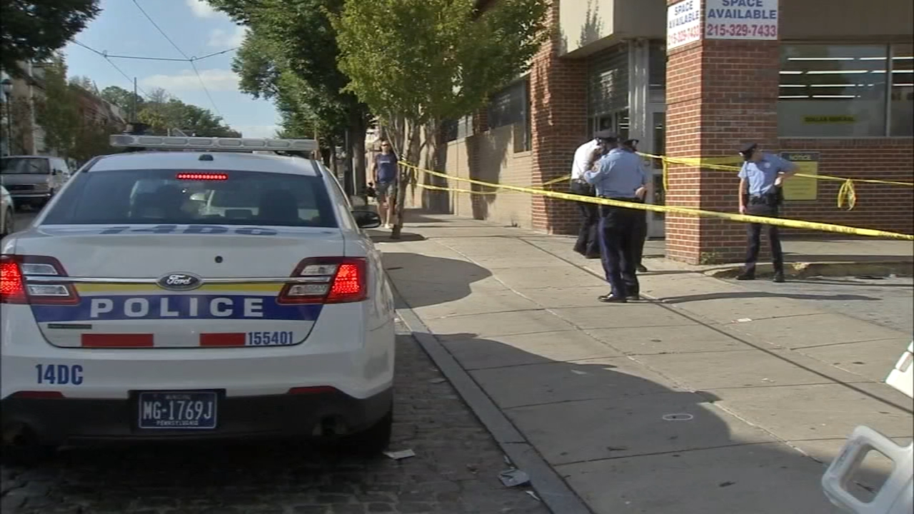 Multiple people shot, 1 dead following drive-by shooting as reported by Trish Hartman during Action News at 11 on October 3, 2018.