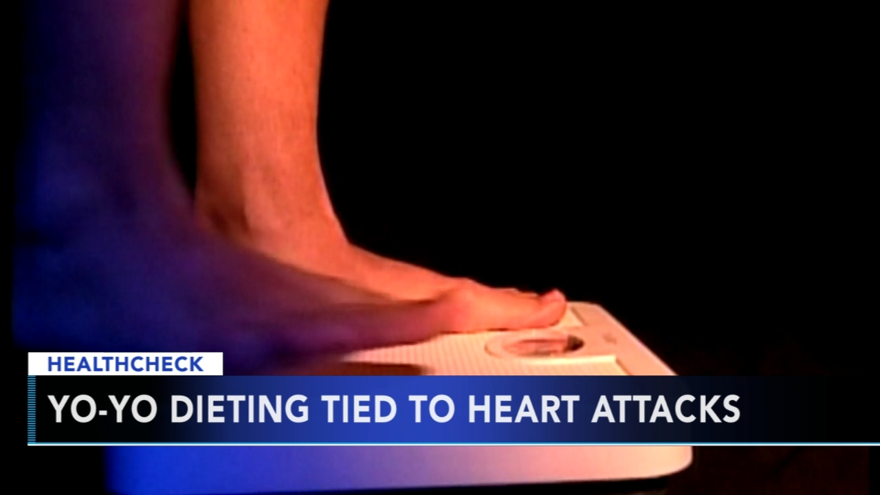 Yo-yo dieting tied to heart attacks. Tamala Edwards reports during Action News Mornings on October 3, 2018.